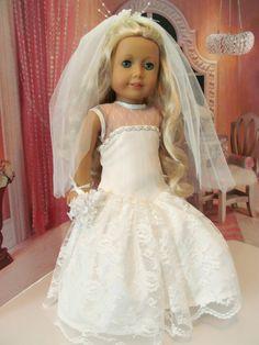 Wedding Dress Bridal Gown Veil Bridal by fashioned4you on Etsy