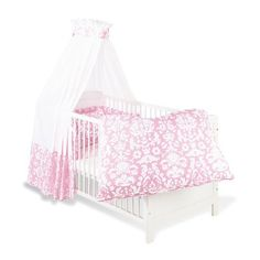 Pinolino 60577 7   Set Für Kinderbett, 4 Tlg., U0027Marie
