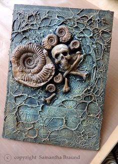 Pirate Captain's Shipwrecked Book - Mixed Media Project - Samantha Braund