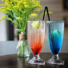 Italian Soda: Mystery & Deep Blue  Have you ever try these soda?