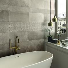 Incroyable Carrelage Mural écru, Créez Une Atmosphère Unique Dans Votre Salle De Bain # Moderne #