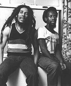 Bob Marley e Peter Tosh <3