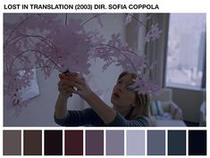Área Visual - Blog de Arte y Diseño: Cinema Palettes. Paletas de color cinematográficas