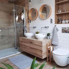Looking to update your bathroom? Feast your eyes on these beautiful bathroom inspiration pictures for fresh ideas. Bathroom Inspo, Bathroom Inspiration, Bathroom Interior, Bathroom Ideas, Bathroom Organization, Boho Bathroom, Design Bathroom, Ensuite Bathrooms, Small Bathroom