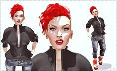 Moda no SL by Luah Benelli