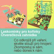 Laskominky pro kořínky - komunitní kompostování, podbabské hospodářství, čtverečková zahrádka