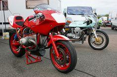 Racers BMW & Moto Guzzi   Flickr - Photo Sharing!