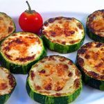 Parmasean Zucchini Bites