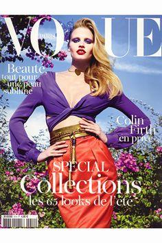 PARIS VOGUE - FEBRUARY 2011 COVER MODEL - LARA STONE