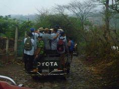 SCARY ALEX RIDE TO WORK IN EL SALVADOR