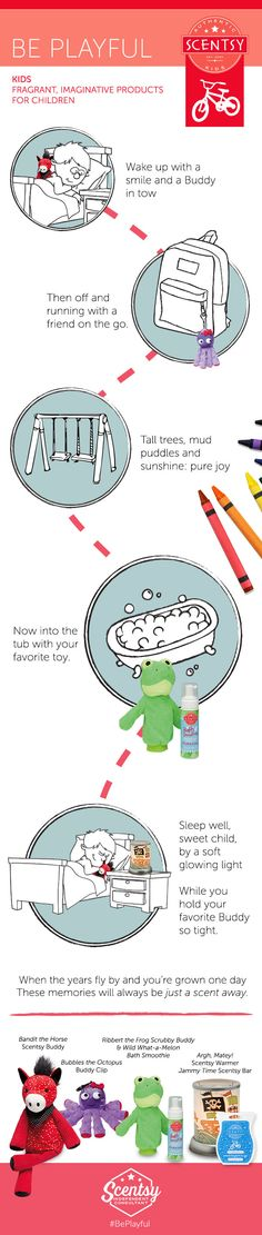 All New Products featured in the new #Kids line. New items available Sep. 1, 2015. https://sandyfranklin.scentsy.us