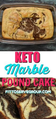 It's my recipe for an easy, delicious keto marble pound cake. My marble low carb cake features the flavor of chocolate, vanilla and a little coffee for a rich mocha pound cake. Low Carb Sweets, Low Carb Desserts, Low Carb Recipes, Diet Recipes, Dessert Recipes, Smoothie Recipes, Healthy Recipes, Shake Recipes, Pasta Recipes
