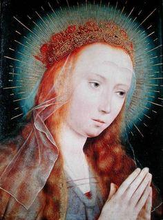 Quentin Massys [or Metsys] - The Virgin at Prayer