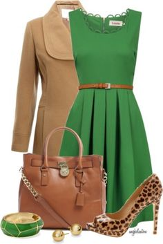 6 Green Outfit Ideas In The Light Spring Color Palette