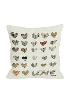 63% OFF Oliver Gal by One Bella Casa In The Paper Square Pillow, Multi