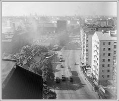Hämeentie, Helsinki 1950-1952.
