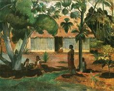 Paul Gauguin - Te raau rahi (Le Grand Arbre)