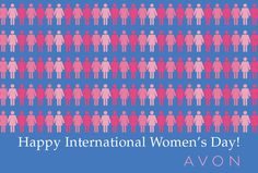 Celebrate this 8th of March and speak out against domestic violence with Avon, the company for women