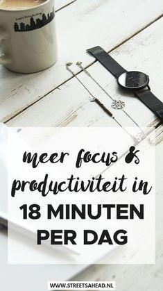 Zorg voor een succesvolle dag door 18 minuten van je werkdag aan de methode van Peter Bregman te besteden. Ik leg je uit wat deze methode inhoudt én deel hoe je volgens hem je jaar moet plannen