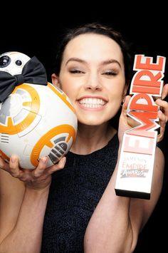 BB-8 & Daisy Ridley