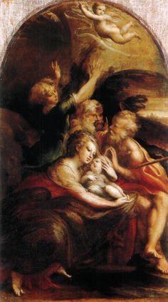Natività del Parmigianino, opera che si trova alla Galleria Doria Pamphilj, Roma