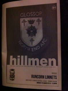 Glossop North End v Runcorn Linnets