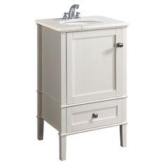 "Simpli Home Chelsea 20"" Bathroom Vanity  FRESHEN UP"