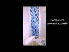 Pastilha azul metálica para paredes