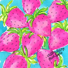 Berry fresh. #Lilly5x5 #SummerInLilly
