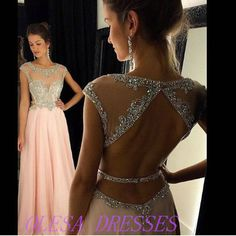 Sparkly Prom Dress, backless prom dress beaded prom dress blush pink prom dress long prom dress prom dresses 2018 sexy prom dress prom dress , These 2020 prom dresses include everything from sophisticated long prom gowns to short party dresses for prom. Simple Formal Dresses, Open Back Prom Dresses, Prom Dresses 2016, Prom Dresses For Teens, Backless Prom Dresses, Quinceanera Dresses, Dress Long, Dress Formal, Prom Gowns