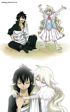 Mavis first guild master of fairy tail and zeref