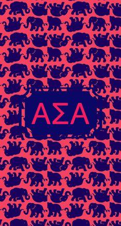 Alpha Sigma Alpha Monogram!
