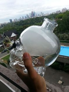 Crystal Head Vodka turned #bong
