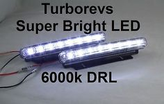 LED DAYTIME RUNNING LIGHT DRL VAUXHALL ASTRA MK5 VECTRA in Bulbs & LEDs | eBay