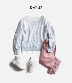 Absolutely love this tie-dye shirt and it's a great transition piece from winter to spring