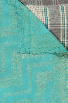 """One of a Kind Kantha Throw - Multi - 60"""" x 90"""" on HauteLook"""