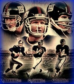 QBs #nyg New York Football Giants #legends