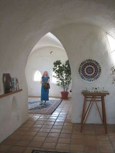 Earth Home Garden A Visit To Nader Khalilis Cal Institute Bag HomesAdobe