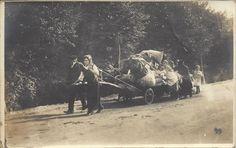 (1915-18) Profughi in fuga da Monfalcone