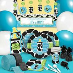 Baby Cow baby shower theme.