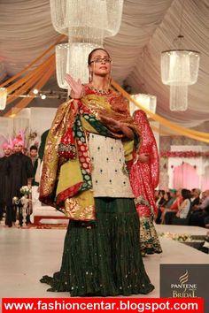 Ali Xeeshan Bridal Wear Collection Ali Xeeshan, Pakistani, Sari, Bridal, Ethnic, How To Wear, Collection, Fashion, Saree
