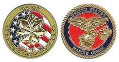 O4 USMC Major Coin Item #CC-363