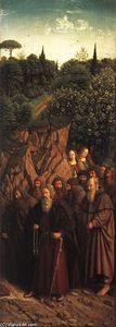 The Ghent Altarpiece: The Holy Hermits - (Jan Van Eyck)