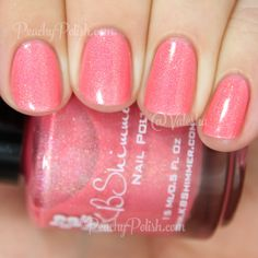 KBShimmer Blush Money   Spring 2015 Collection   Peachy Polish #pink/orange