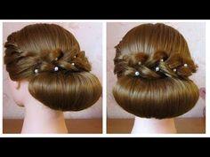 paso a paso de peinados para fiesta PEINADOS Pinterest