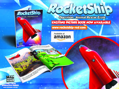 RocketShip: Operation Animal Rescue Crate Picture Book...  Buy Now On Amazon!  http://www.amazon.co.uk/RocketShip-Operation-Animal-Rescue-Crate/dp/1515080420/ref=sr_1_1?ie=UTF8&qid=1447282588&sr=8-1&keywords=rocketship+operation