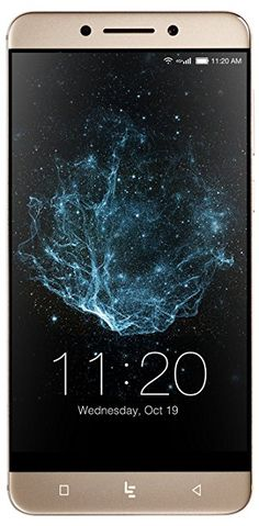 "LeEco | Le Pro3 Unlocked Smartphone, 5.5"" Display, 64GB Storage, 4GB RAM, 16MP Main Camera, 4K Video, Dolby Audio, U.S. Warranty (Gold)"