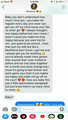 I love you the most...♡ Paragraph For Boyfriend, Love Text To Boyfriend, Love Paragraph, Cute Boyfriend Texts, Message For Boyfriend, Boyfriend Girlfriend, Cute Paragraphs For Him, Goodnight Texts To Boyfriend, Cute Things To Say To Your Boyfriend