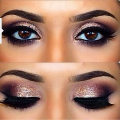Eye make up.                                                                                                                                                                                 More