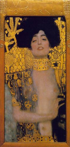 color schemes.  Gustav Klimt Judith I